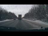 Лобовое столкновение по вине неопытного водителя 24 февраля на 732-м км. трассы Чебоксары - Сыктывкар